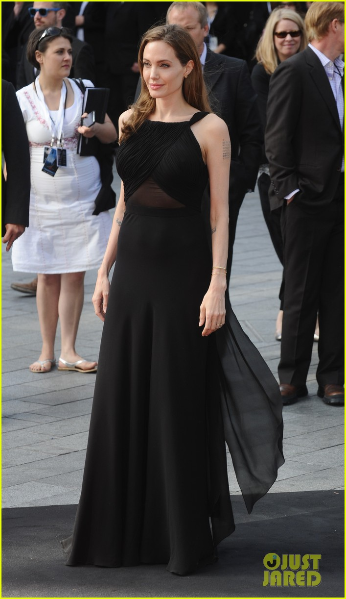 Brad and Angelina at World War Z Premiere..Leicester Square, London..June 2nd, 2013 0232