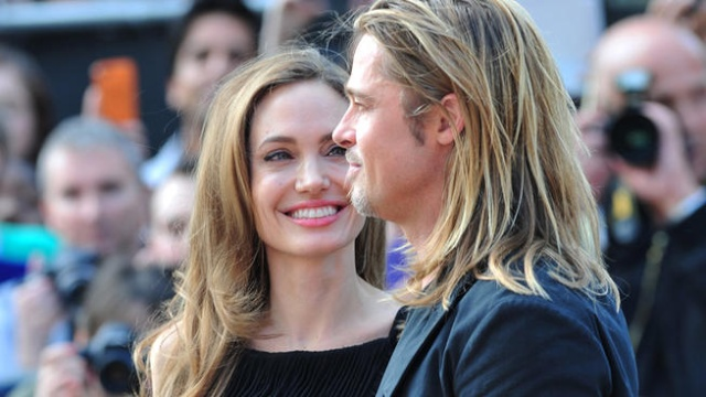 Brad and Angelina at World War Z Premiere..Leicester Square, London..June 2nd, 2013 0234