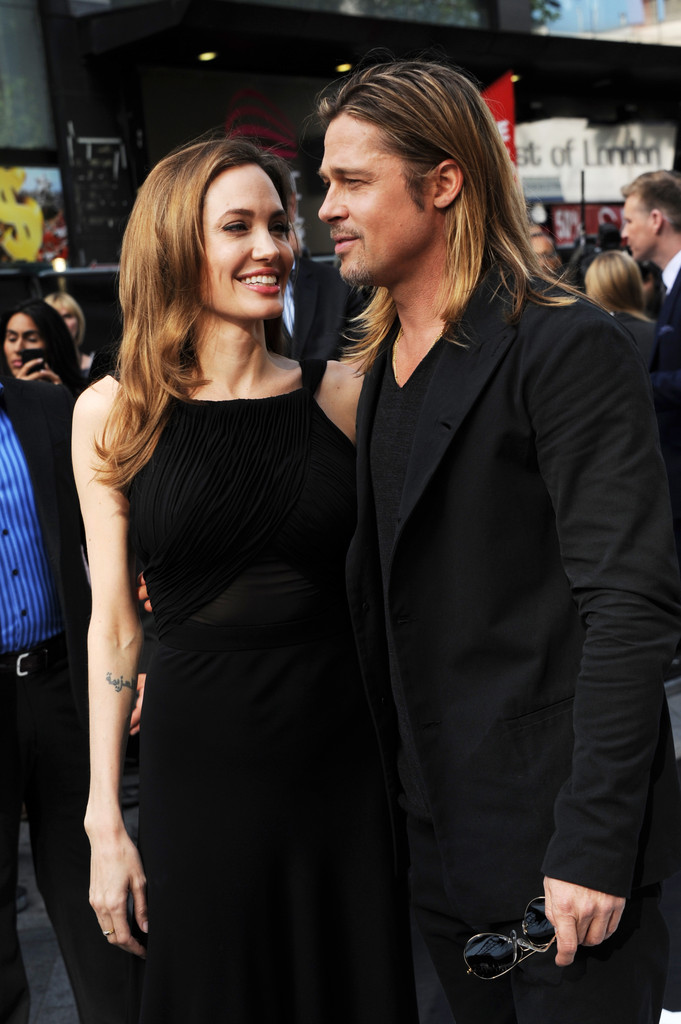Brad and Angelina at World War Z Premiere..Leicester Square, London..June 2nd, 2013 0236