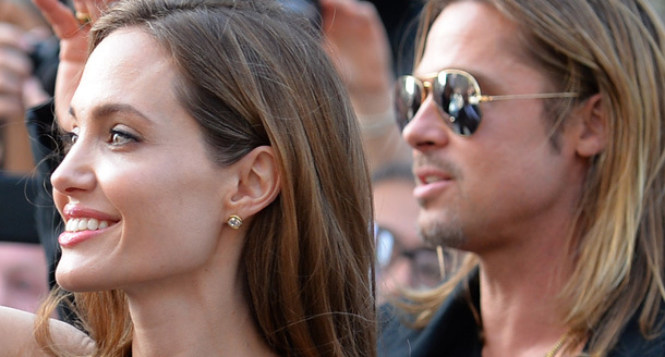 Brad and Angelina at World War Z Premiere..Leicester Square, London..June 2nd, 2013 0238
