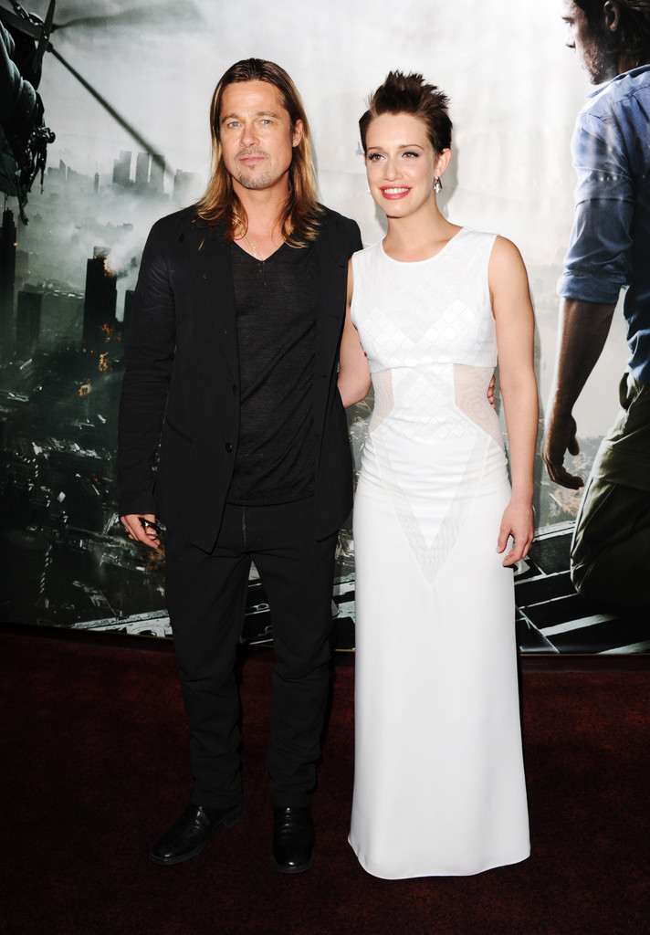 Brad and Angelina at World War Z Premiere..Leicester Square, London..June 2nd, 2013 0239