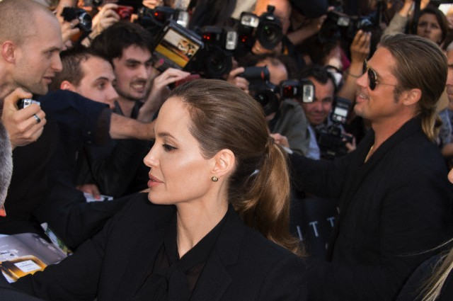 Brad and Angelina World War Z Premiere,UGC Normandie Movie Theatre.. Paris,France..June 3rd 2013 0245