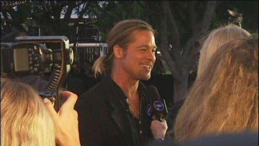 Brad at World War Z Premiere, The Star, Sydney Australia..June 9th 2013 0257