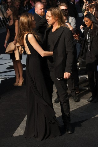 Brad and Angelina at World War Z Premiere..Leicester Square, London..June 2nd, 2013 - Page 3 027