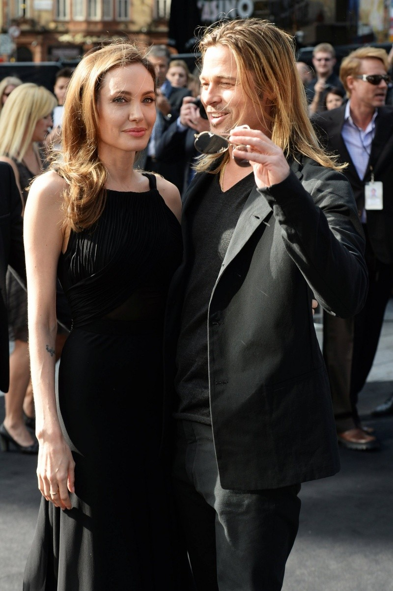 Brad and Angelina at World War Z Premiere..Leicester Square, London..June 2nd, 2013 - Page 2 0324
