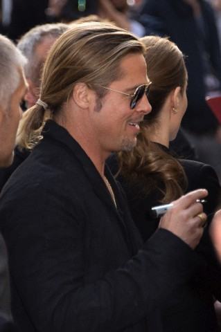 Brad and Angelina World War Z Premiere,UGC Normandie Movie Theatre.. Paris,France..June 3rd 2013 0326