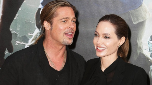 Brad and Angelina World War Z Premiere,UGC Normandie Movie Theatre.. Paris,France..June 3rd 2013 0328