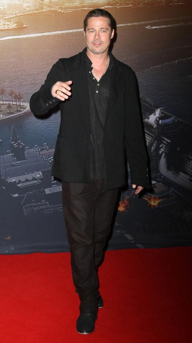 Brad at World War Z Premiere, The Star, Sydney Australia..June 9th 2013 0333