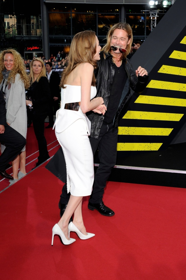 Brad and Angelina at World War Z Premiere, Sony Center..Berlin, Germany..June 4th 2013 - Page 2 035