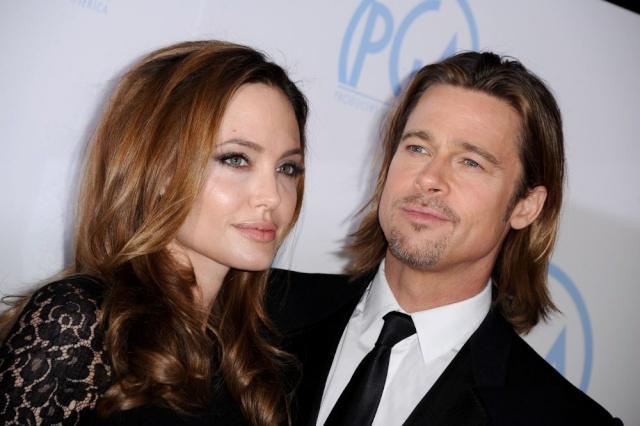 Brad and Angelina at Producers Guild Awards,Los Angeles, CA .January 21st 2012 035110