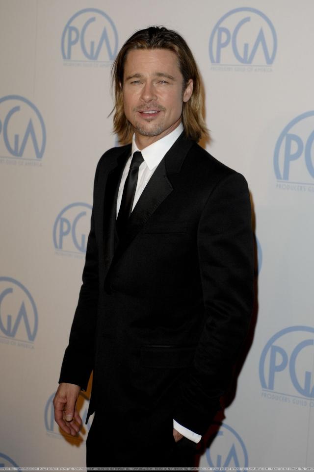 Brad and Angelina at Producers Guild Awards,Los Angeles, CA .January 21st 2012 03611