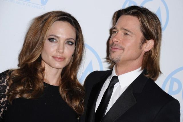 Brad and Angelina at Producers Guild Awards,Los Angeles, CA .January 21st 2012 036110
