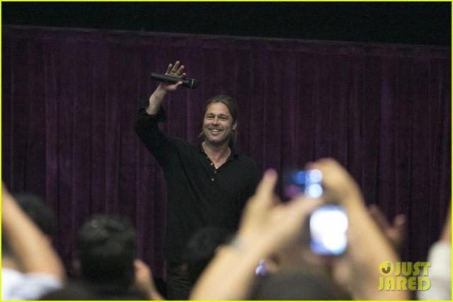 Brad at World War Z Screening, Regal LA Live..Los Angeles, CA..June 7th 2013 037
