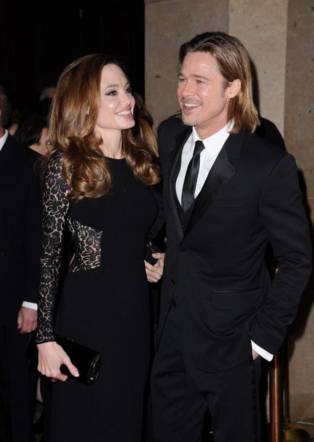 Brad and Angelina at Producers Guild Awards,Los Angeles, CA .January 21st 2012 039110