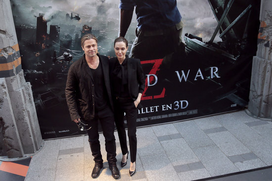 Brad and Angelina World War Z Premiere,UGC Normandie Movie Theatre.. Paris,France..June 3rd 2013 04041325