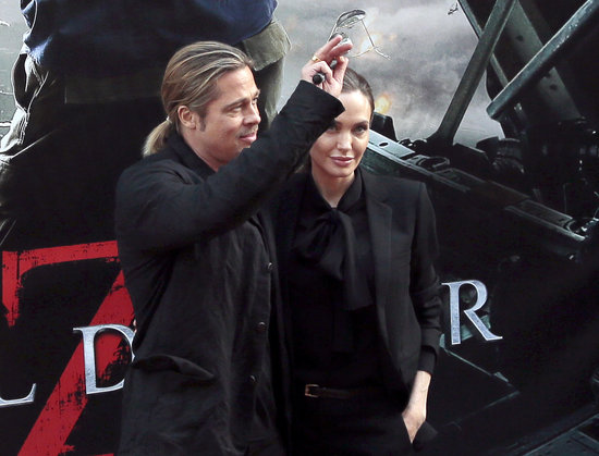 Brad and Angelina World War Z Premiere,UGC Normandie Movie Theatre.. Paris,France..June 3rd 2013 04041326