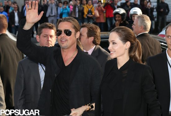 Brad and Angelina World War Z Premiere,UGC Normandie Movie Theatre.. Paris,France..June 3rd 2013 04041327