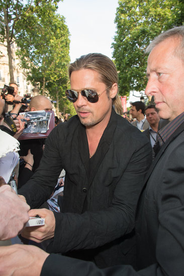 Brad and Angelina World War Z Premiere,UGC Normandie Movie Theatre.. Paris,France..June 3rd 2013 04041333