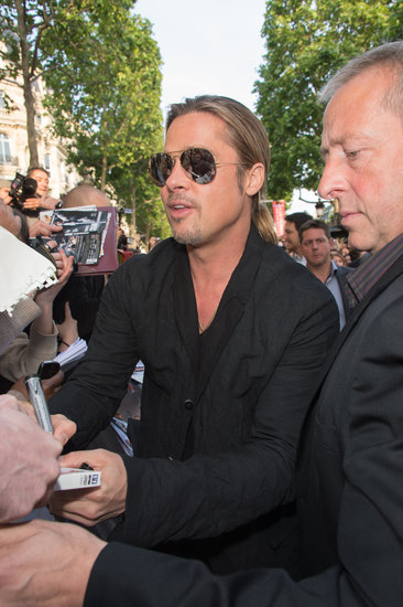Brad and Angelina World War Z Premiere,UGC Normandie Movie Theatre.. Paris,France..June 3rd 2013 04041334