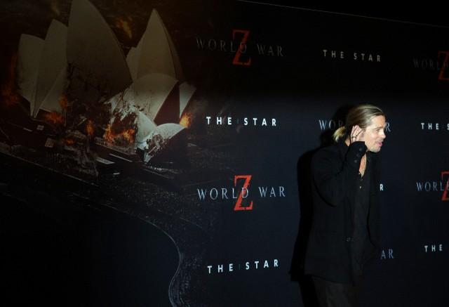 Brad at World War Z Premiere, The Star, Sydney Australia..June 9th 2013 - Page 2 04041350