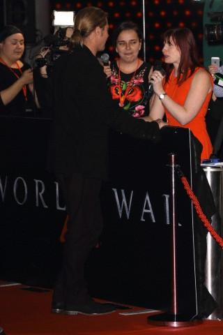 Brad at World War Z Premiere, The Star, Sydney Australia..June 9th 2013 - Page 2 04041361