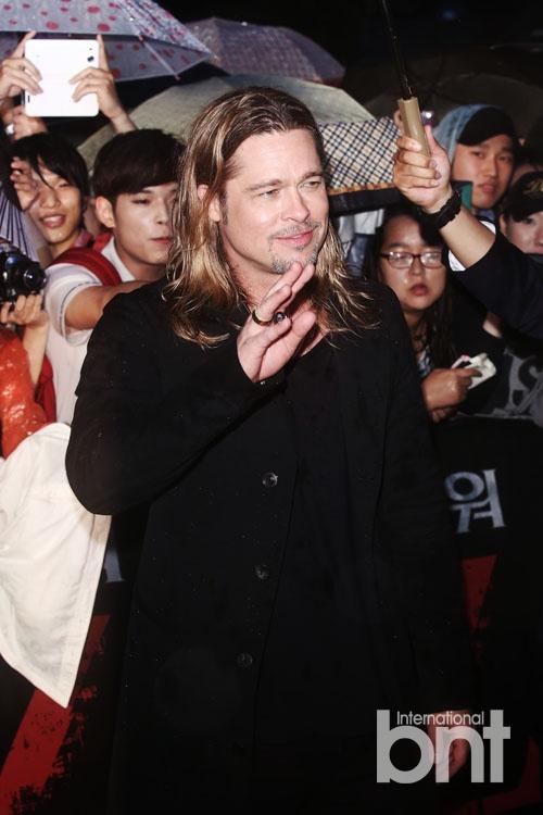 Brad at World War Z Premiere Seoul,South Korea..June 11th 2013 04041363