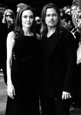 Brad and Angelina at World War Z Premiere..Leicester Square, London..June 2nd, 2013 - Page 2 0423
