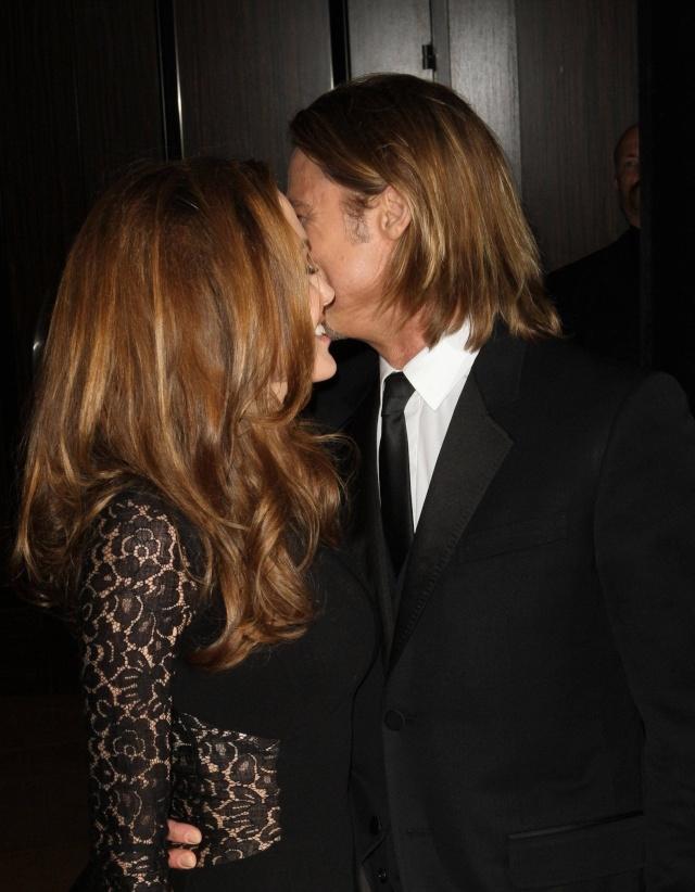 Brad and Angelina at Producers Guild Awards,Los Angeles, CA .January 21st 2012 043910