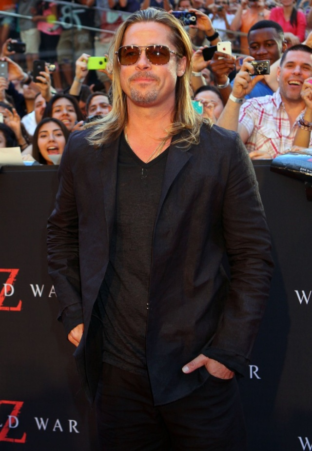 Brad at World War Z Premiere, New York..June 17th 2013 051