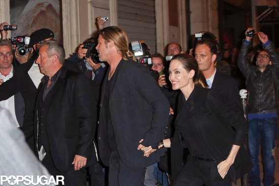 Brad and Angelina World War Z Premiere,UGC Normandie Movie Theatre.. Paris,France..June 3rd 2013 0519