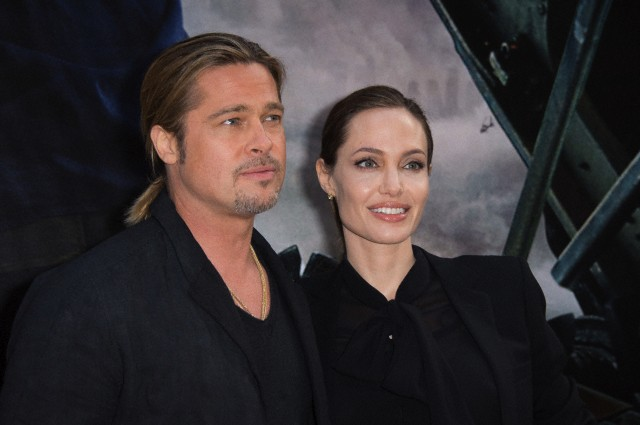 Brad and Angelina World War Z Premiere,UGC Normandie Movie Theatre.. Paris,France..June 3rd 2013 0618
