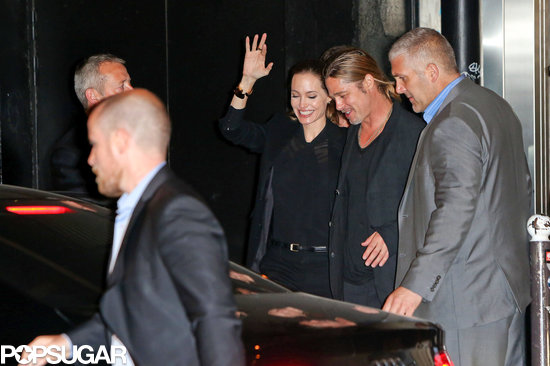 Brad and Angelina World War Z Premiere,UGC Normandie Movie Theatre.. Paris,France..June 3rd 2013 0619