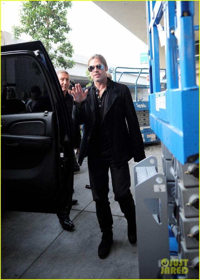 Brad at World War Z Screening, Regal LA Live..Los Angeles, CA..June 7th 2013 0813