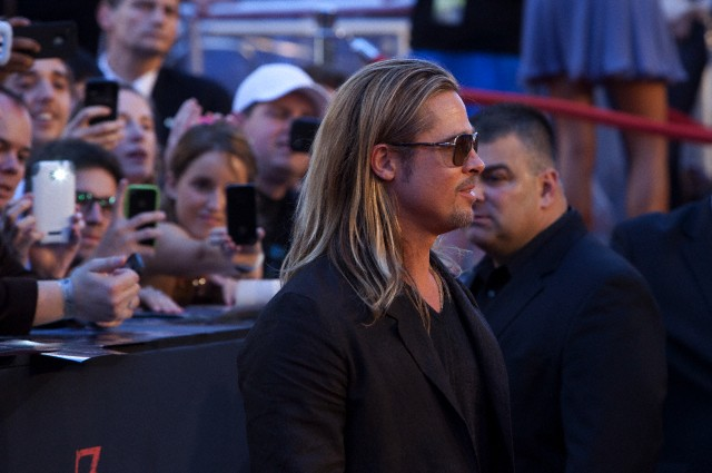 Brad at World War Z Premiere, New York..June 17th 2013 0_1012