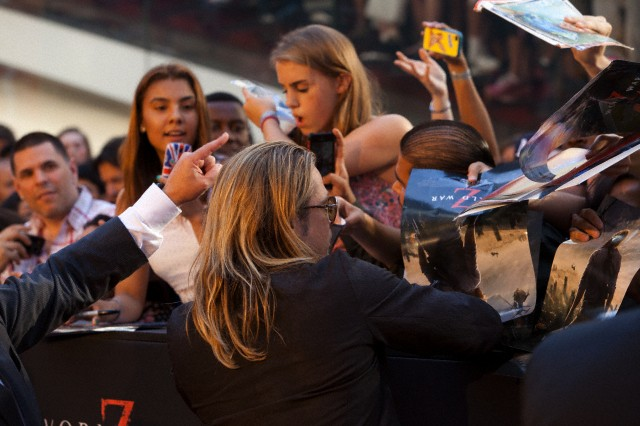 Brad at World War Z Premiere, New York..June 17th 2013 0_1613