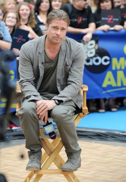 Brad Interview on Good Morning America..New York City, June 17th 2013 0_318