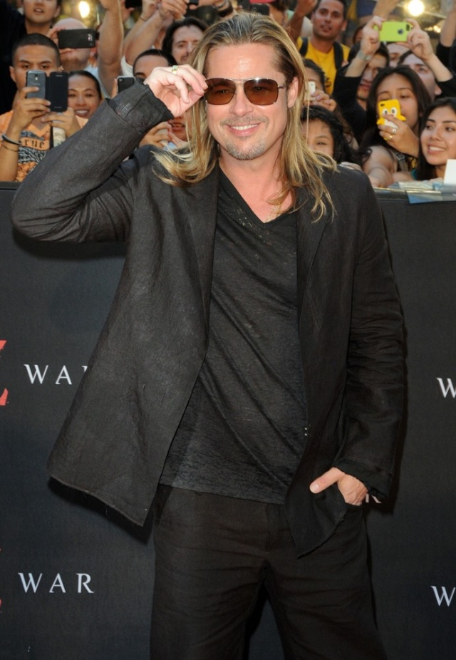Brad at World War Z Premiere, New York..June 17th 2013 0_320