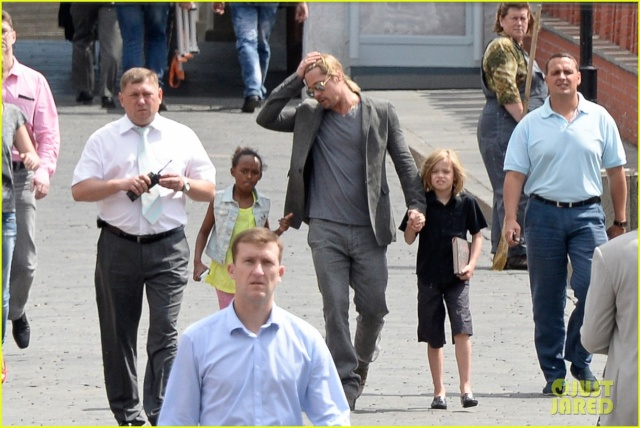 Brad,Zahara, and Shiloh visiting the Moscow Kremlin, Russia, June 21st,2013 0_324