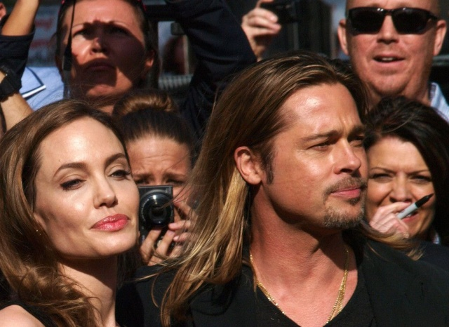Brad and Angelina at World War Z Premiere..Leicester Square, London..June 2nd, 2013 - Page 3 0_411