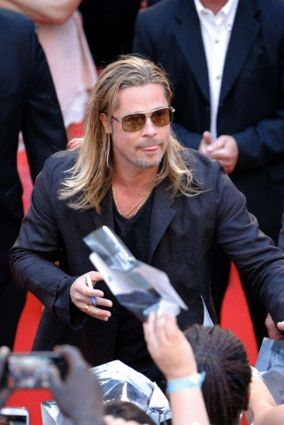 Brad at World War Z Premiere, New York..June 17th 2013 0_424