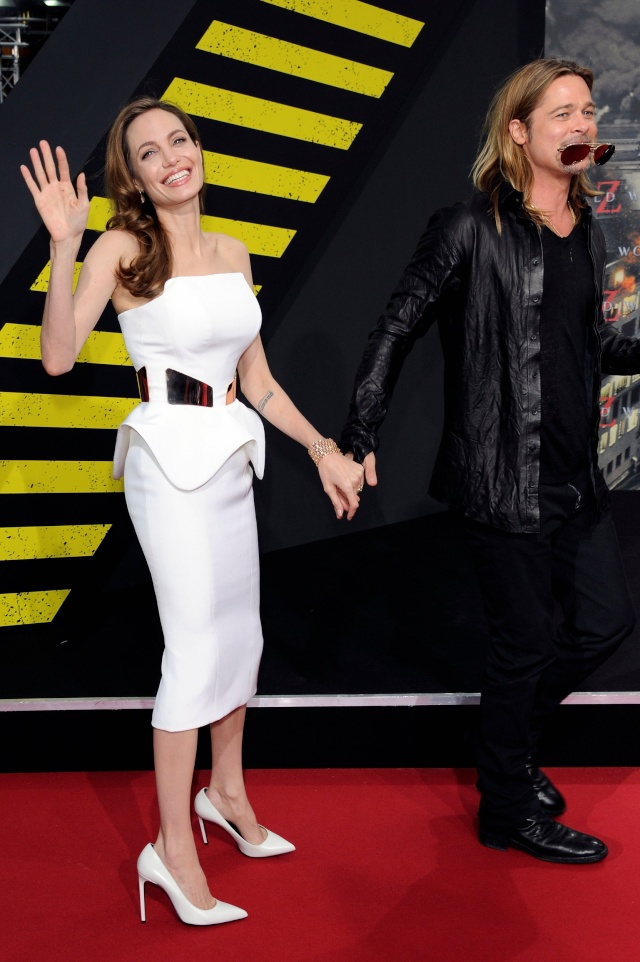 Brad and Angelina at World War Z Premiere, Sony Center..Berlin, Germany..June 4th 2013 - Page 2 0_511