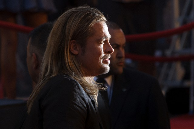 Brad at World War Z Premiere, New York..June 17th 2013 0_815