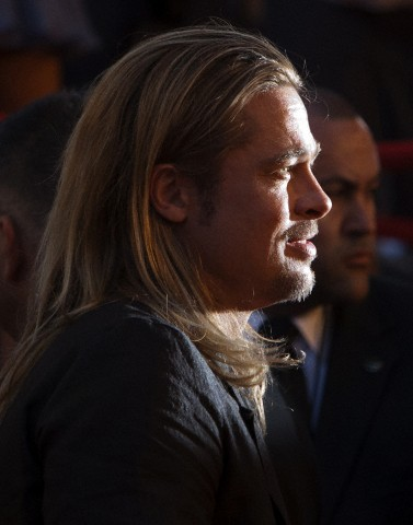 Brad at World War Z Premiere, New York..June 17th 2013 0_912
