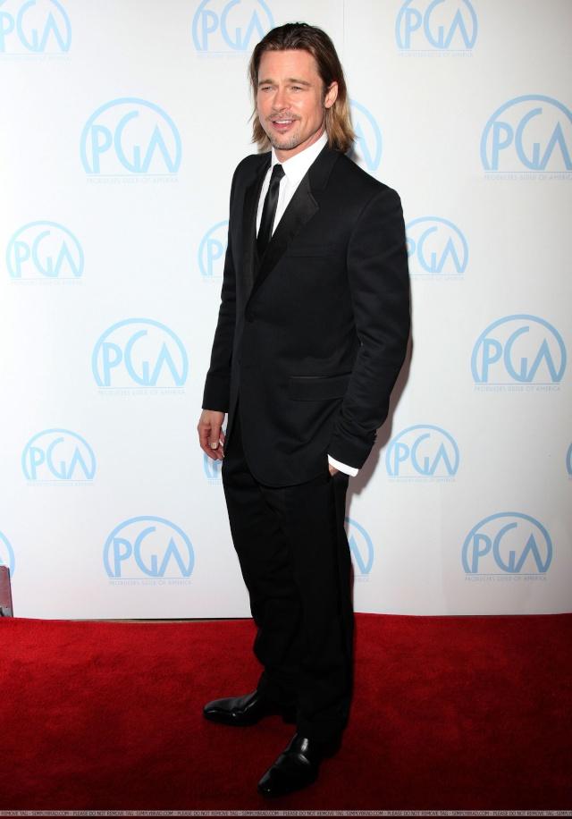Brad and Angelina at Producers Guild Awards,Los Angeles, CA .January 21st 2012 10210