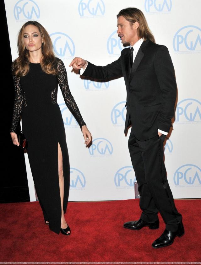 Brad and Angelina at Producers Guild Awards,Los Angeles, CA .January 21st 2012 10310