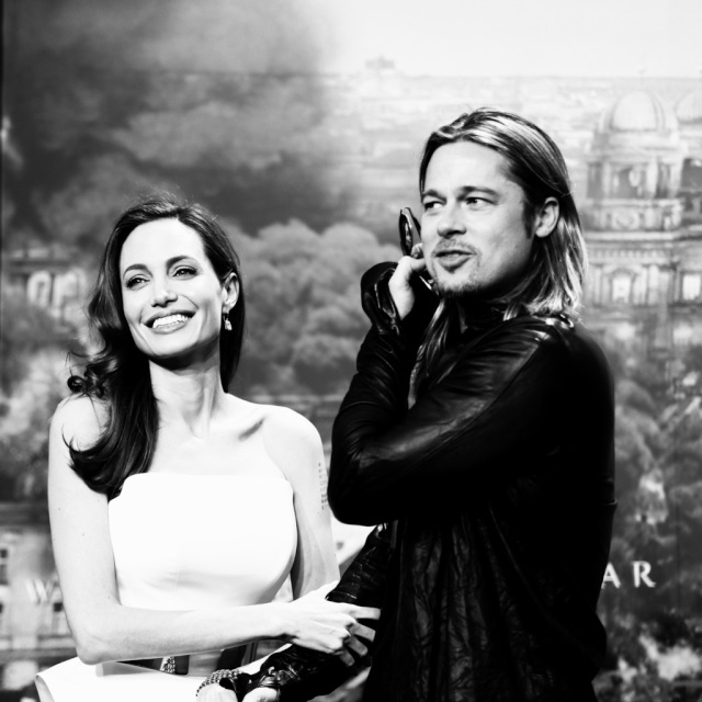 Brad and Angelina at World War Z Premiere, Sony Center..Berlin, Germany..June 4th 2013 - Page 2 111