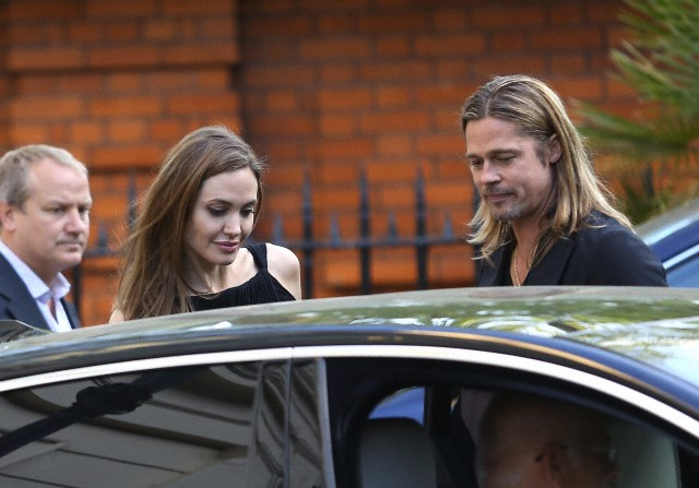 Brad and Angelina at World War Z Premiere..Leicester Square, London..June 2nd, 2013 - Page 3 1110
