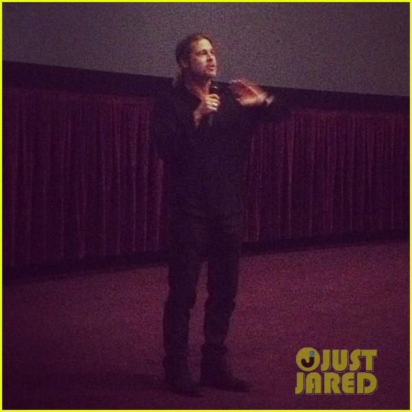 Brad at World War Z Screening, Regal LA Live..Los Angeles, CA..June 7th 2013 1112