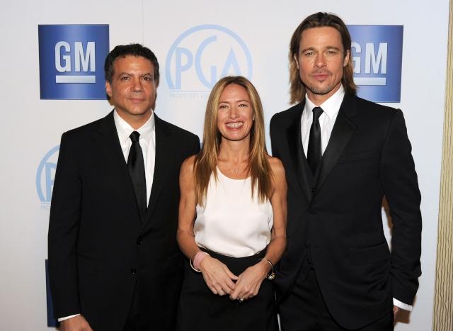 Brad and Angelina at Producers Guild Awards,Los Angeles, CA .January 21st 2012 1810