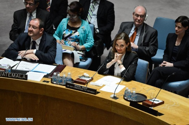 Angelina urges against rape in war zones at the UN Security Council Meeting..New York, June 24th 2013 19962010